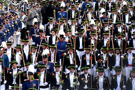 Schützenfest In Neuss